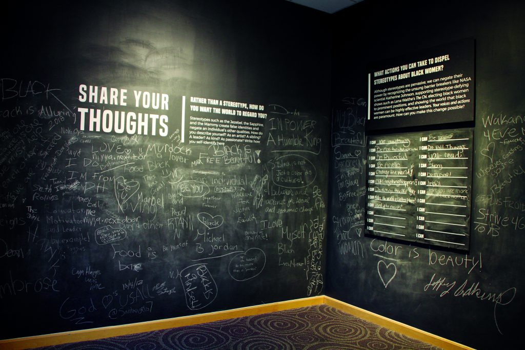Chalkboard walls