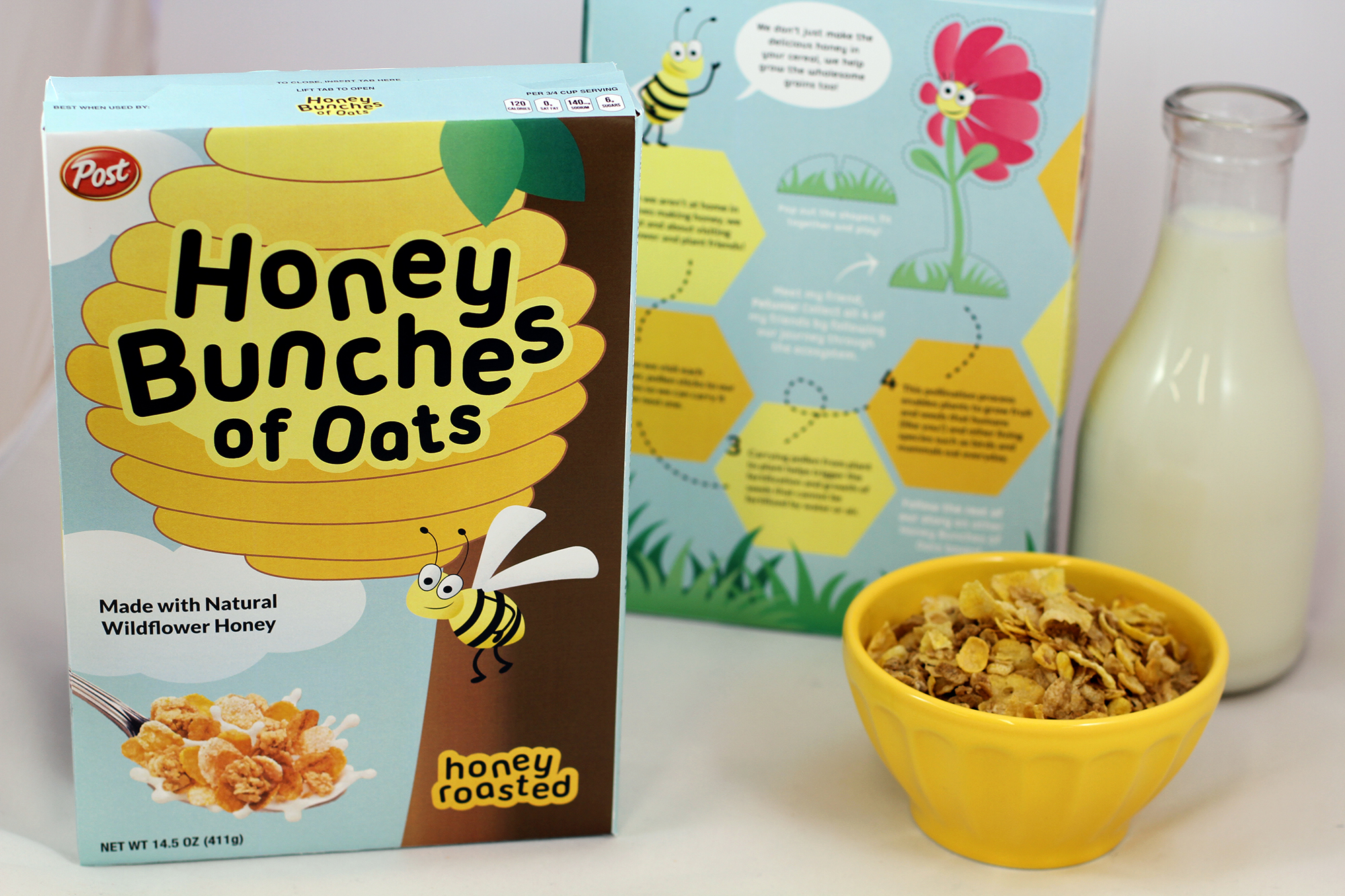 Honey Bunches of Oats redesign