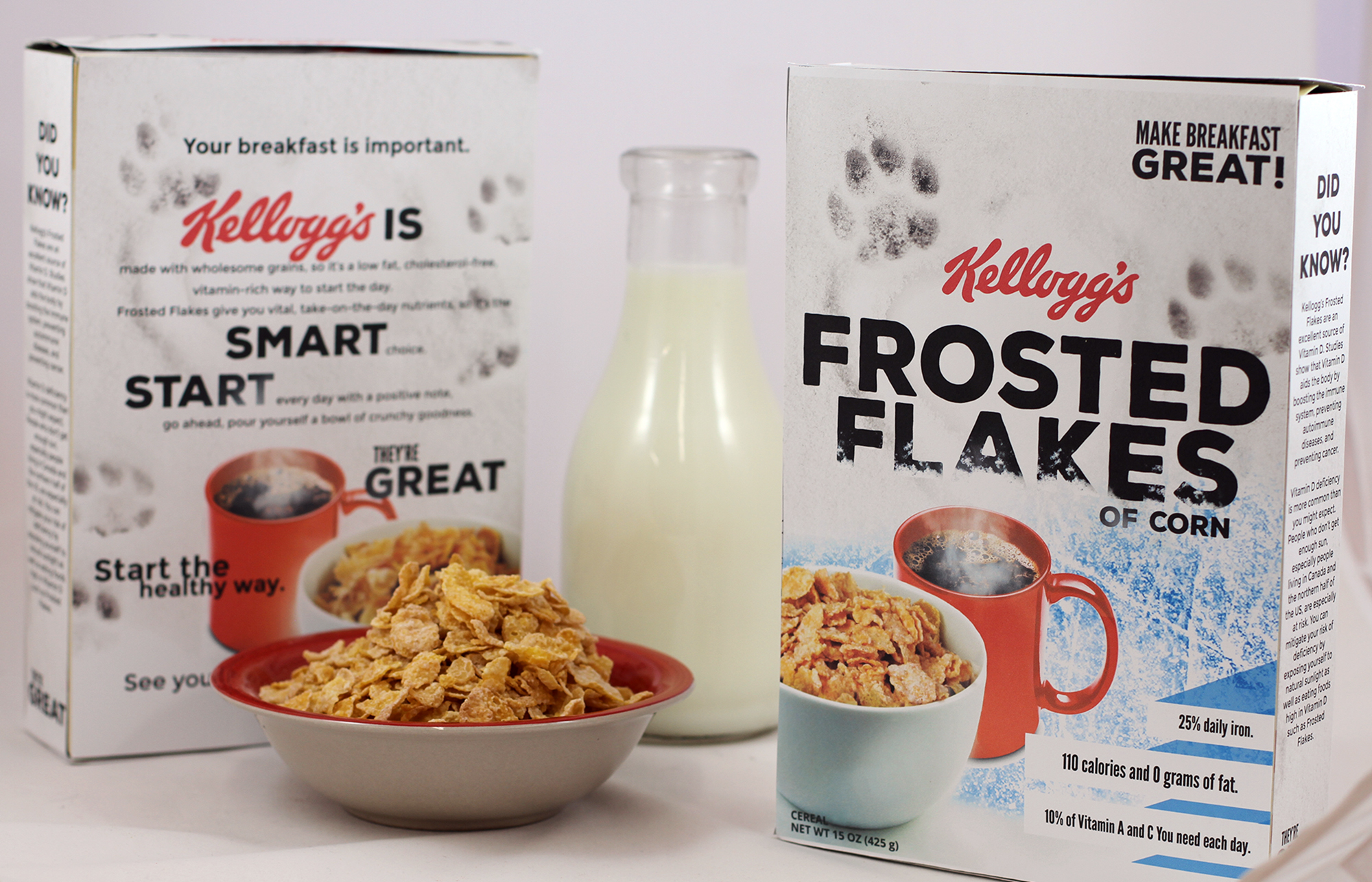 Kellogg's Frosted Flakes redesign