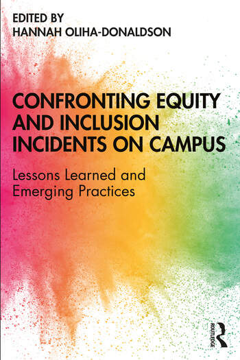 Book cover of Confronting Equity and Inclusion Incidents on Campus