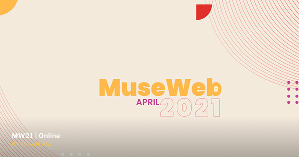 Image of MuseWeb conference webpage